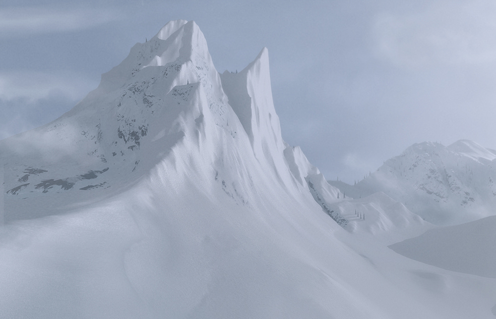 Mountain Dew - Matte Painting - The Mill