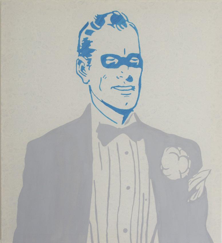 Superheld (in Smoking)