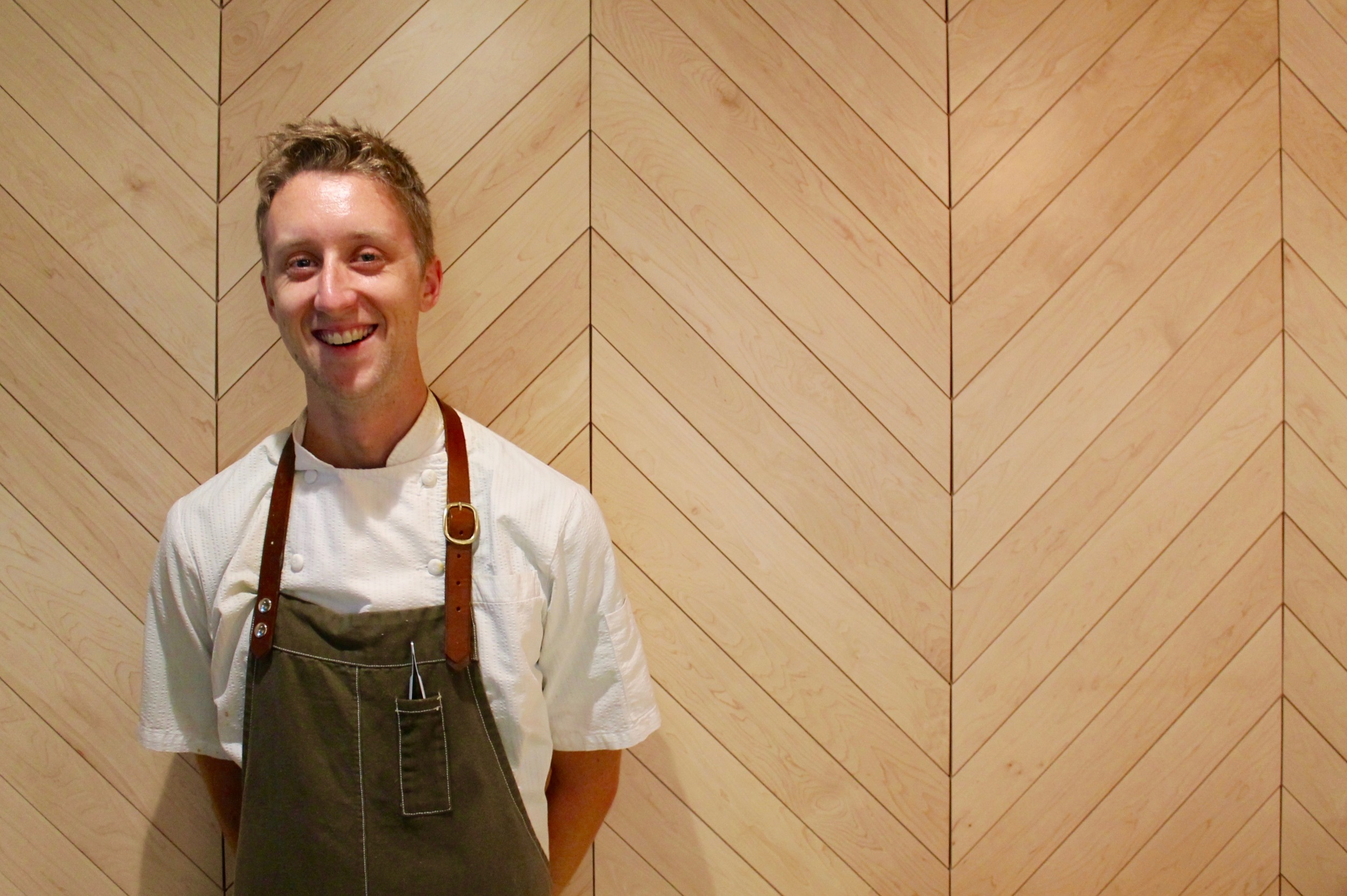Trevor Musick, sous chef at COUNTER 3. FIVE. VII