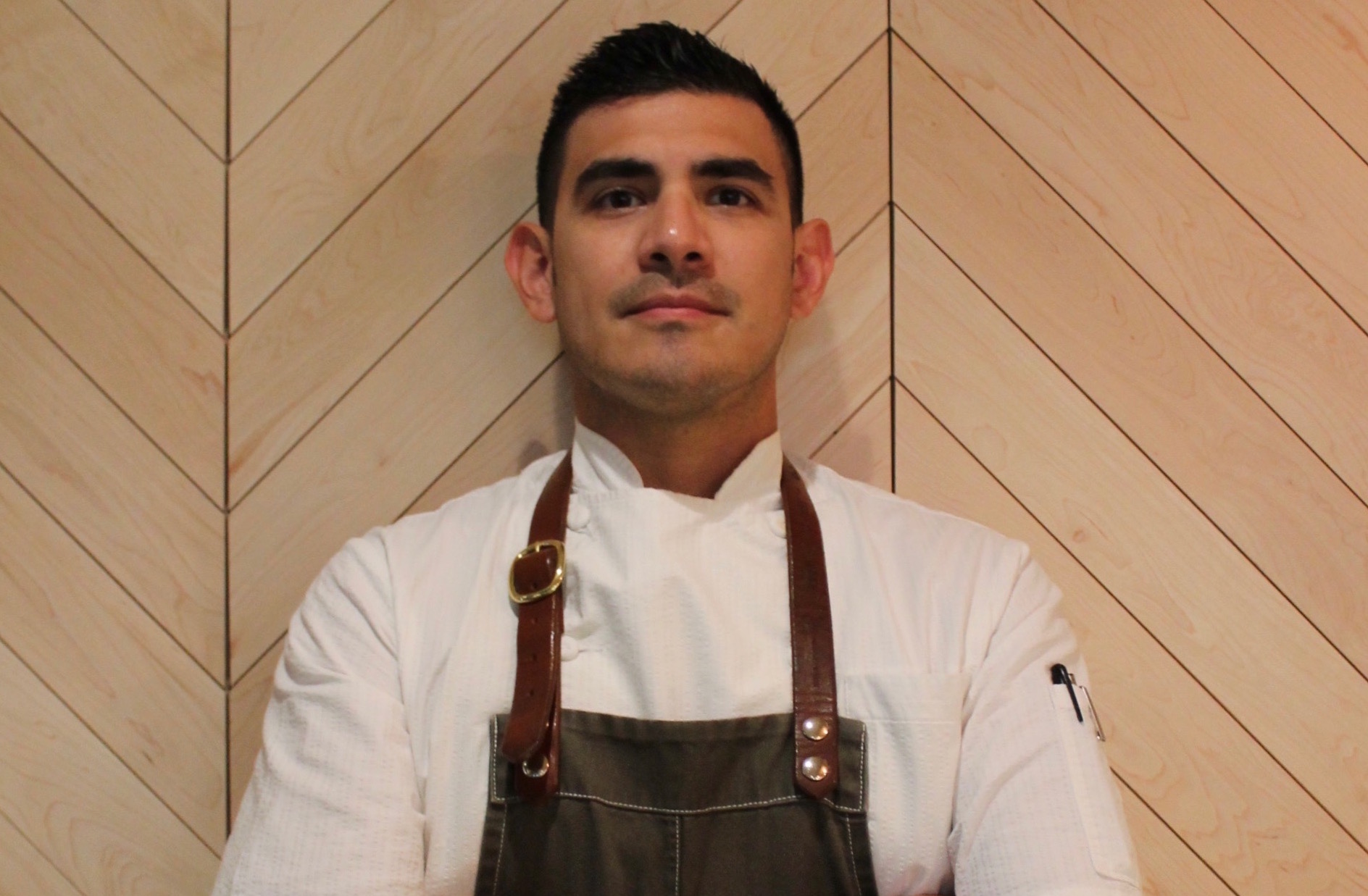 Alejandro Munoz, executive sous chef at COUNTER. 3. FIVE. VII