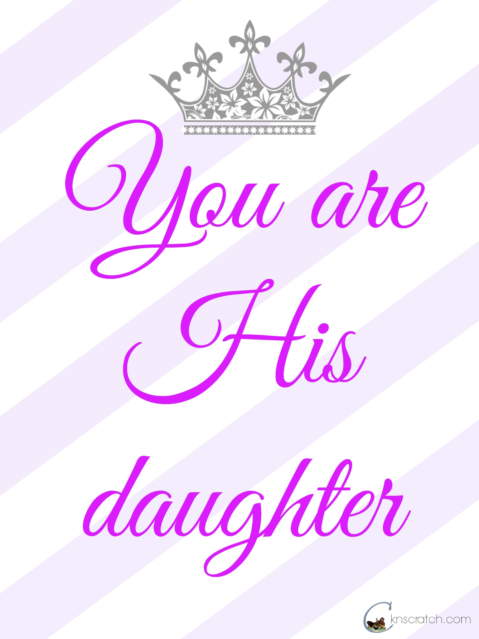 You are His Daughter- Women's Meeting