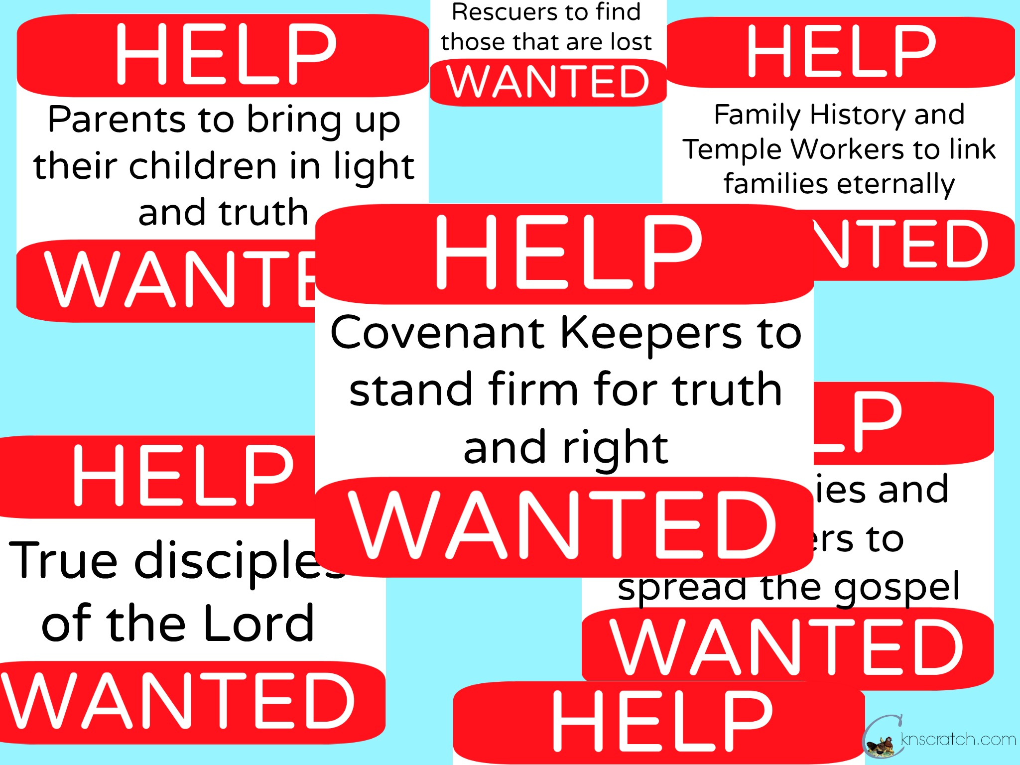 Help Wanted Signs