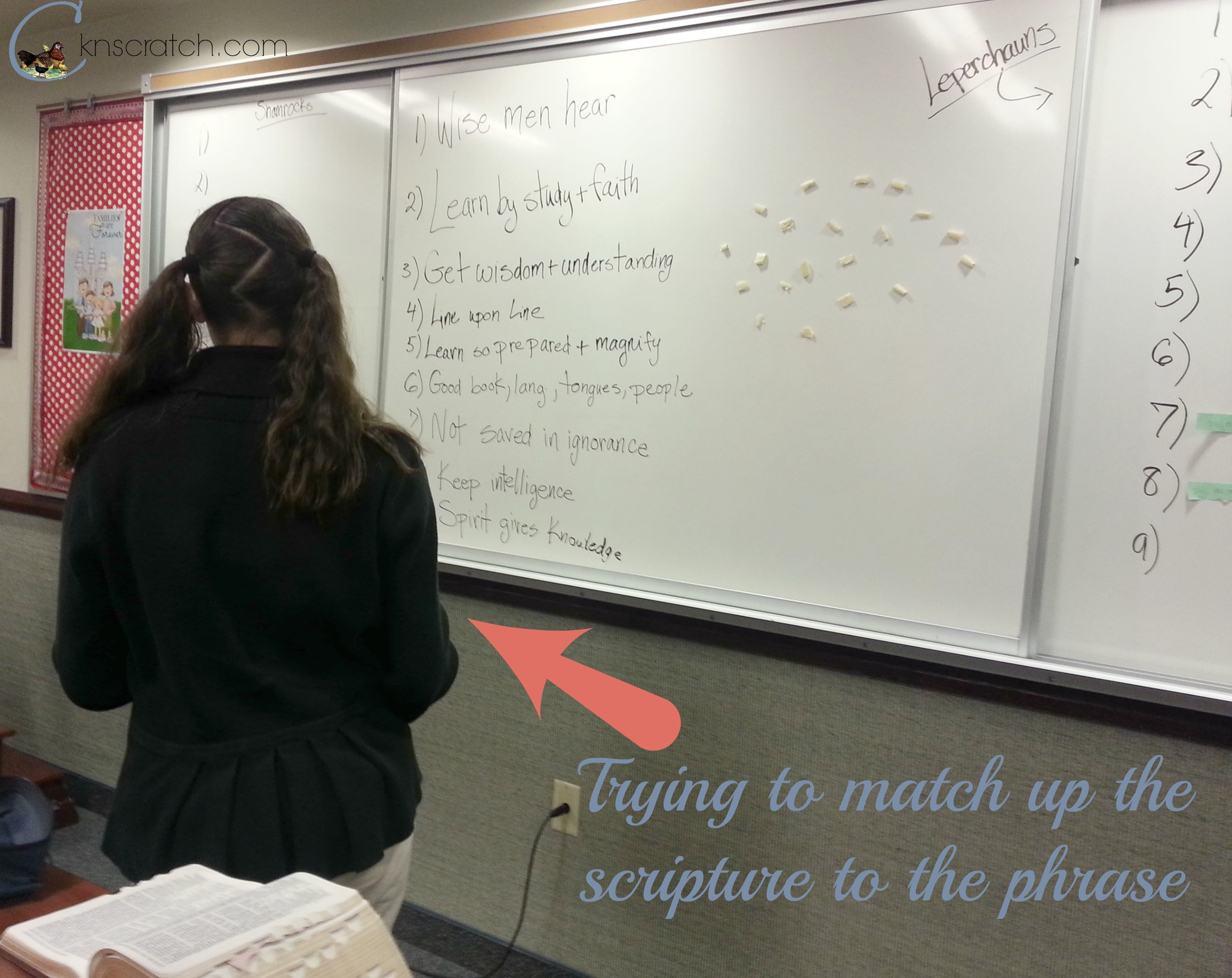 Fun Scripture Relay Race! Perfect for LDS Young Women's activity