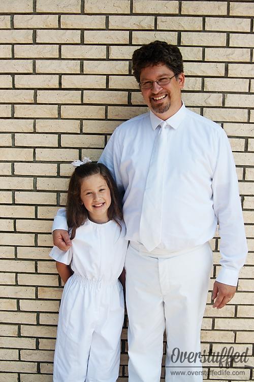 Overstuffed Life- LDS Baptism