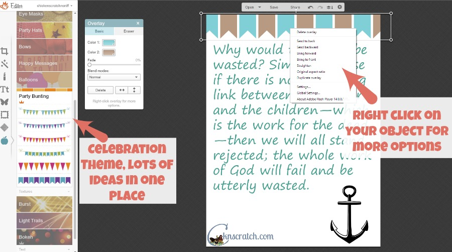 How to make your own quotes with PicMonkey