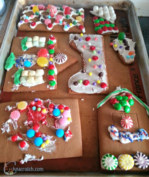 Love these ideas for General Conference for kids like this Gingerbread Conference Center