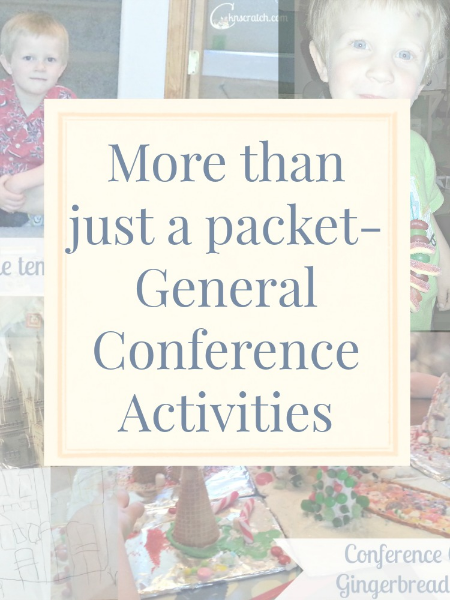 I love these ideas for General Conference- keeps kids quiet and still listening