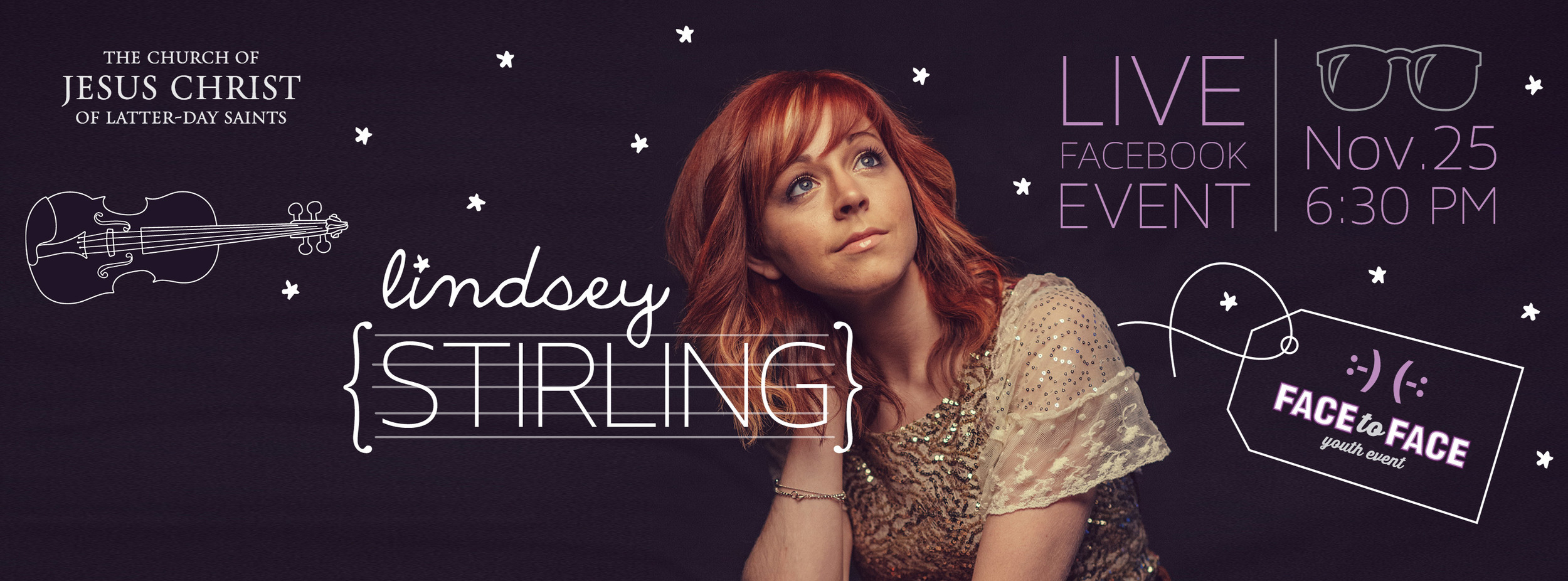 Chat with Lindsey Stirling in the LDSFace2Face November 25!
