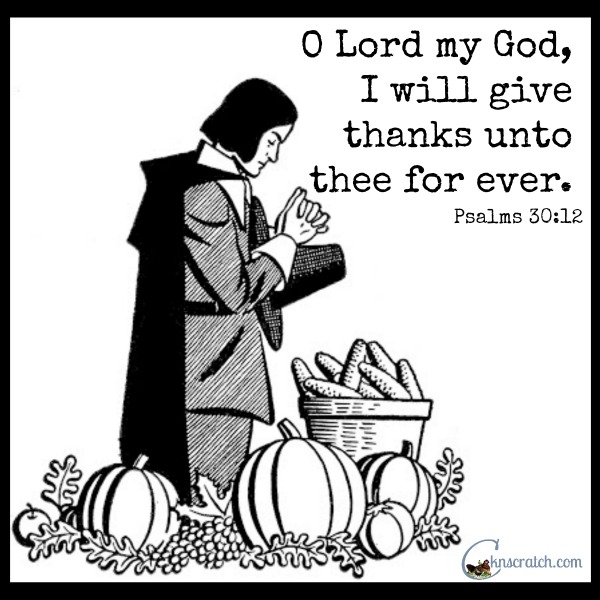 Love this quote for Thanksgiving- so fitting!