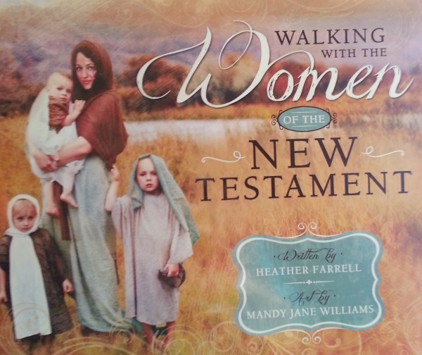 Walking with the Women of the New Testament- Love the book and this idea for a Christmas devotional