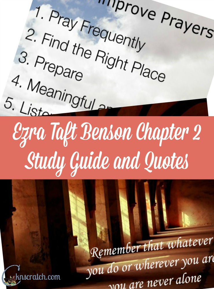 LOVE this study program for the Ezra Taft Benson lessons! Such a great idea and the quotes are so pretty!
