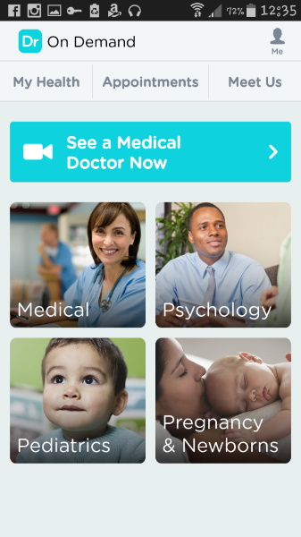 See the Doctor in the comfort of your own home with Doctor on Demand!
