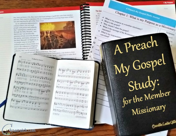 Such a great way to study and really become a Member Missionary- I love the study journal especially