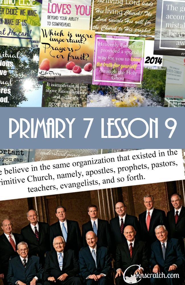 Great lesson helps and handouts for Primary 7 Lesson 9: Jesus Calls His Apostles