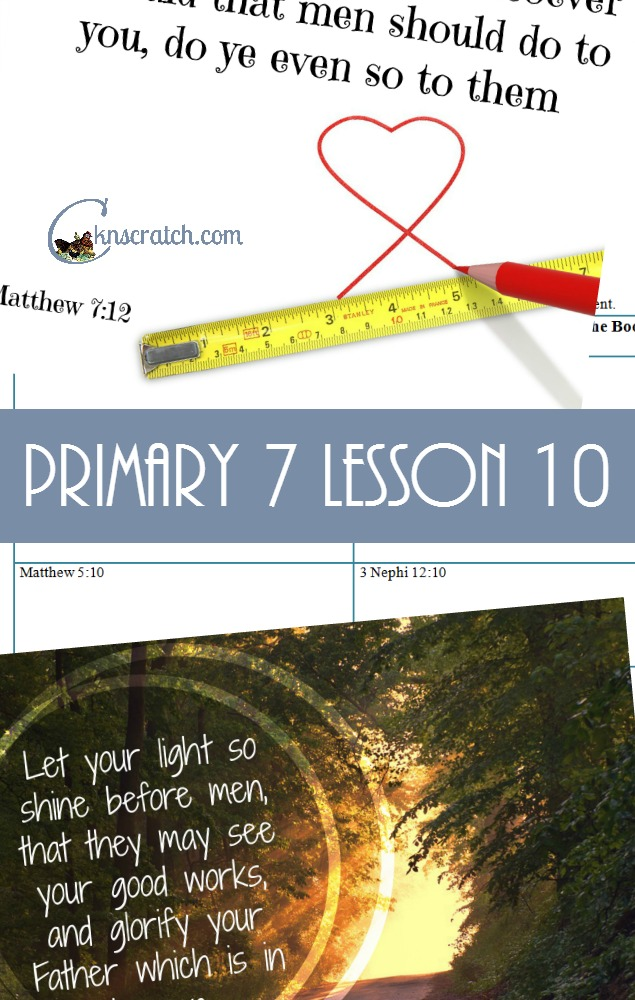 Wonderful resource for any primary lesson- love this one for Primary 7 Lesson 10: The Sermon on the Mount