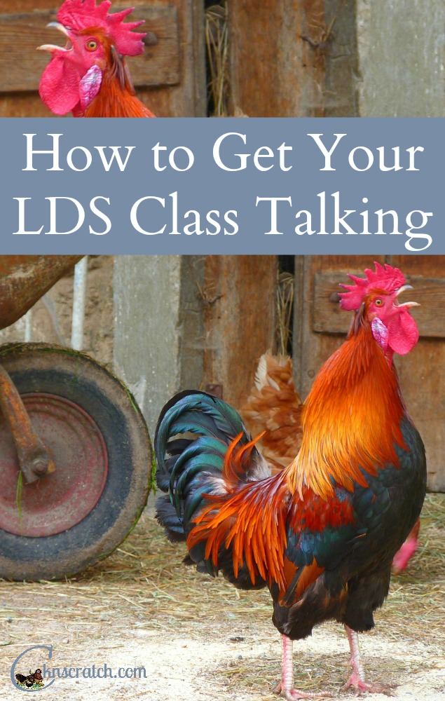 Awesome ideas for how to get those comments coming in your class. Great LDS teaching tips on this site