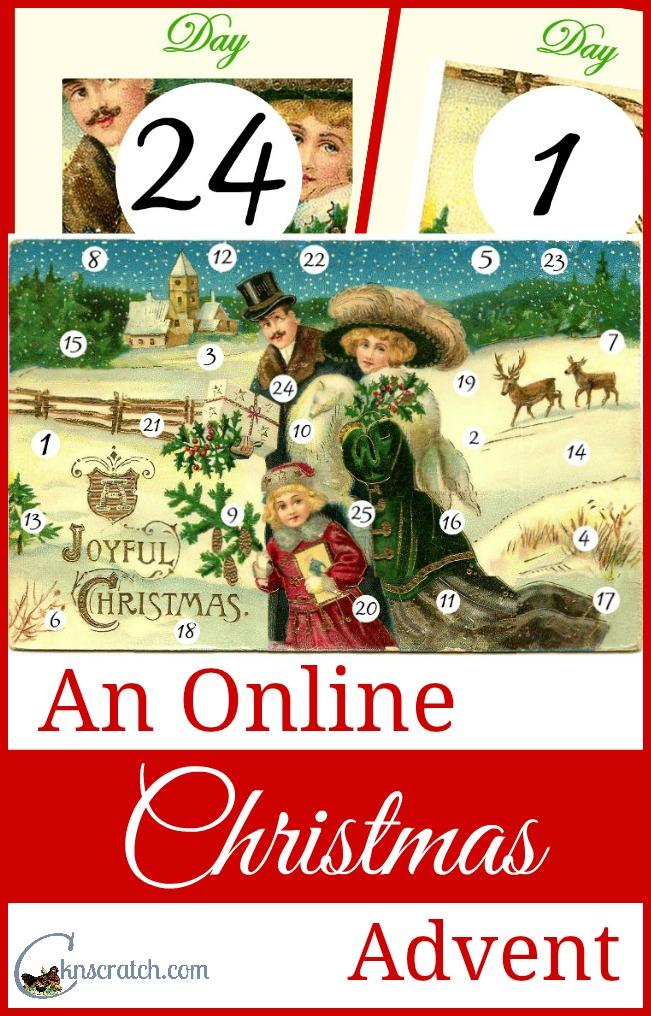 What fun idea! Online Christmas advent!!