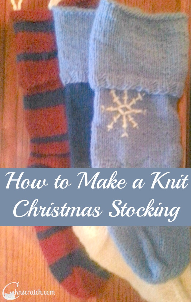 Directions to make these great knit Christmas stocking