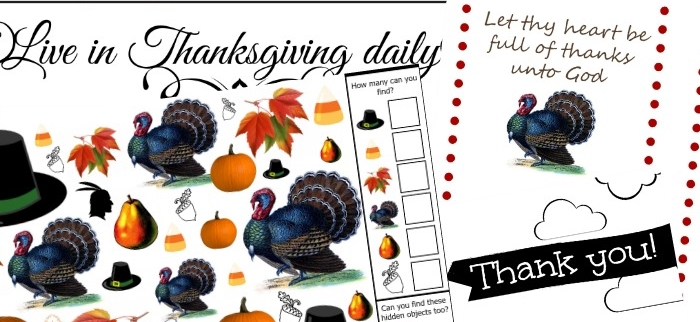 Love all these Thanksgiving free printables!