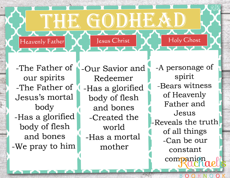 Great LDS Primary handouts!