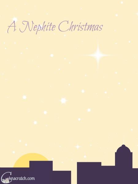 Simple devotional on a Nephite Christmas