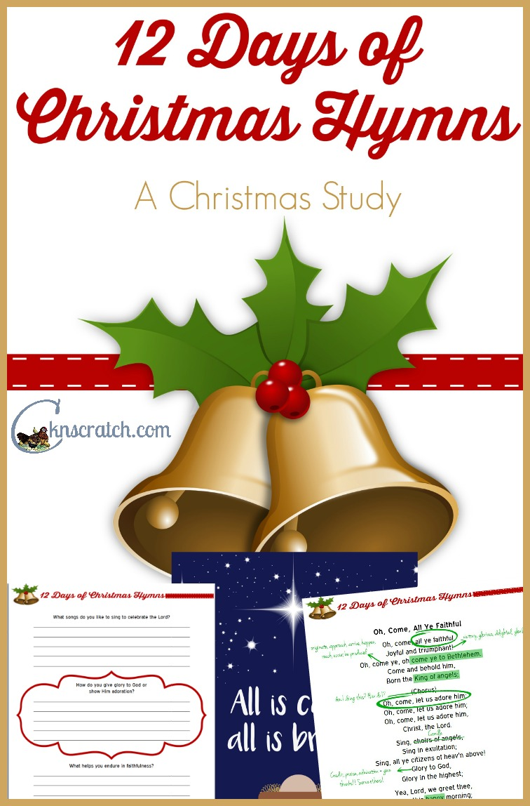 Fun! Study Christmas hymns to get into the spirit this season!