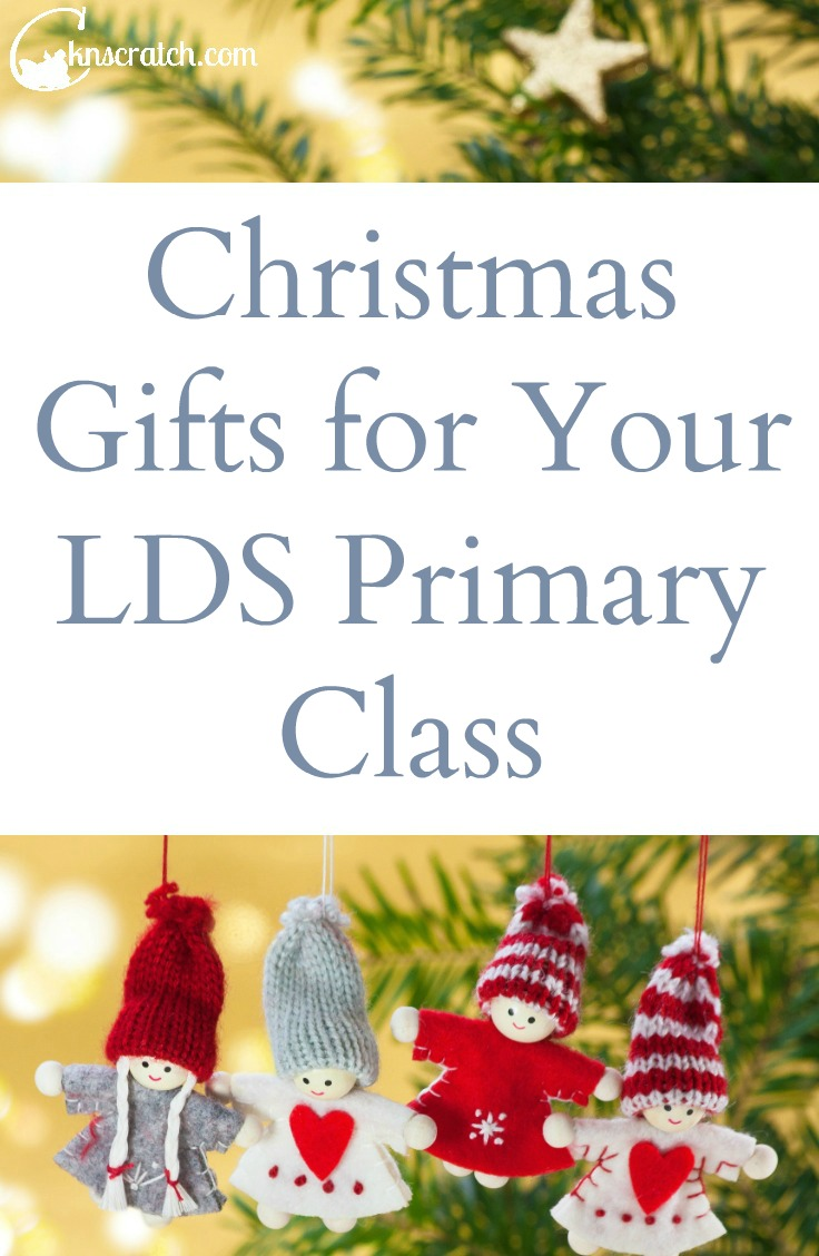 Love that these are simple and affordable! Christmas gifts for your LDS Primary Class