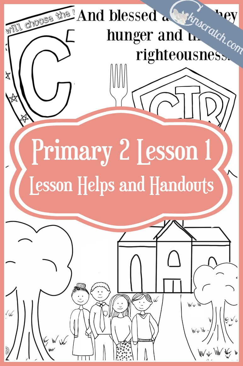 Love this site! Great LDS handouts for Primary 2 Lesson 1: Happiness Comes from Choosing the Right