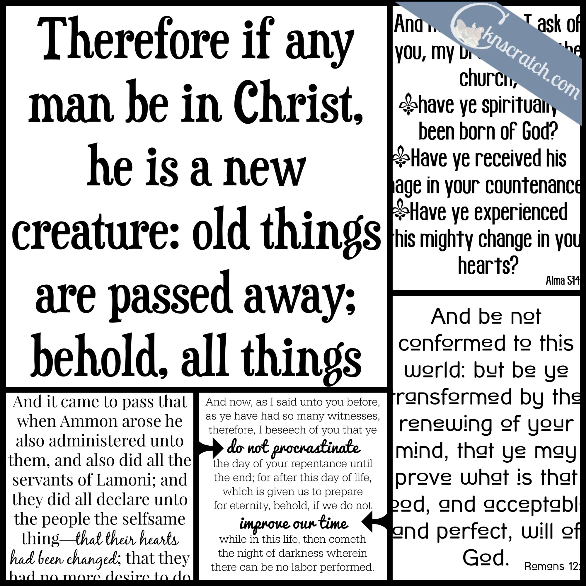 5 free scripture posters to use in January
