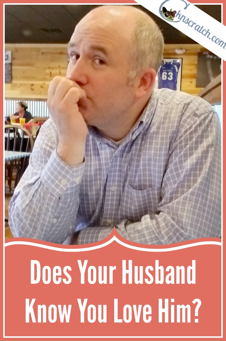 This is excellent! Does your husband know you love him? Great ideas to show him if he doesn't.