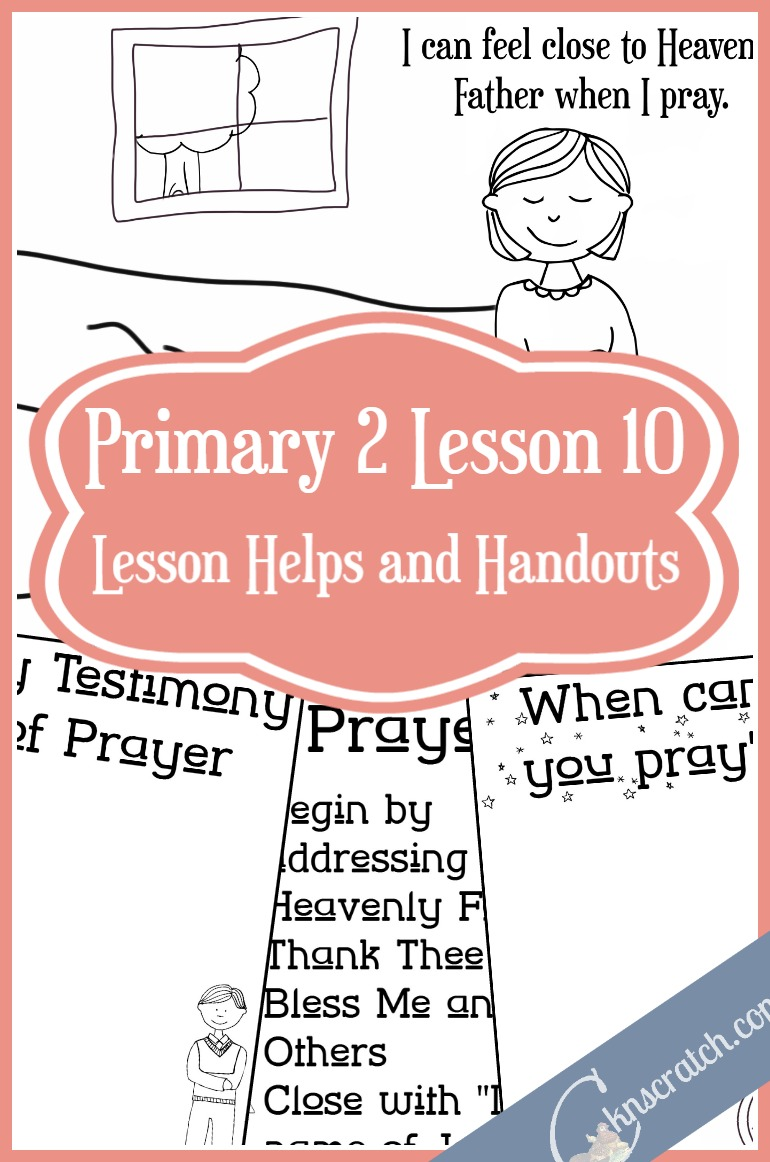 This LDS site is such a lifesaver! Excellent lesson helps and handouts for Primary 2 Lesson 10: I Can Speak with Heavenly Father in Prayer