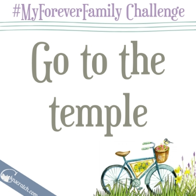 Perfect way to celebrate Easter!  Day 29 of the #MyForeverFamily challenge