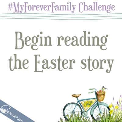 Day 23- how do you read the Easter story?