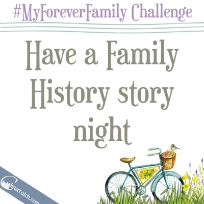 Day 24 of the #MyForeverFamily challenge