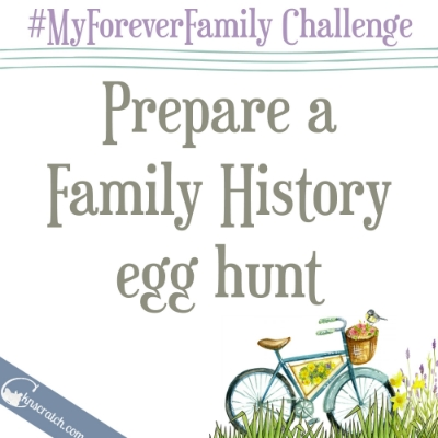 Love this idea for celebrating family and Easter!