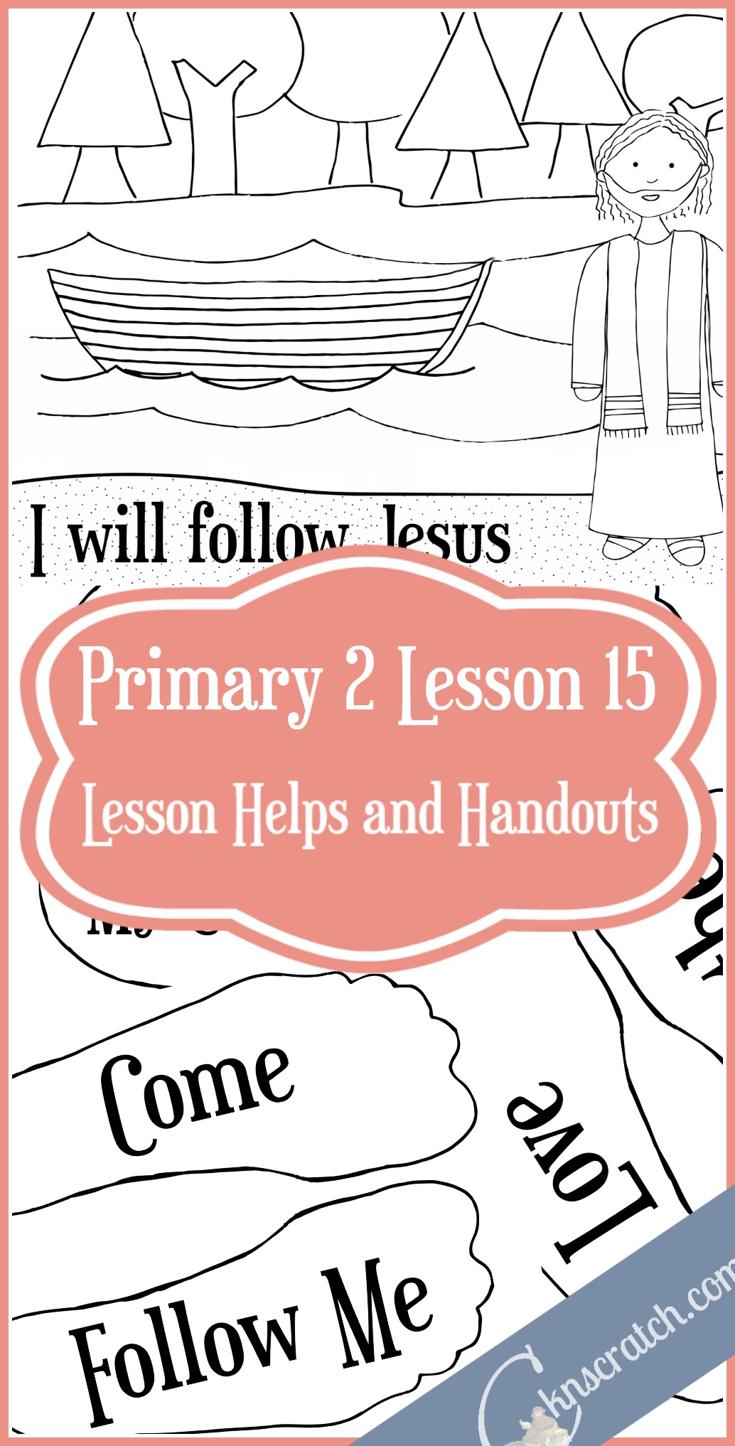 This site is my best friend for all my Sunday lessons. LDS lesson helps and handouts for Primary 2 Lesson 15: Come Follow Me