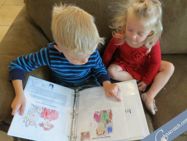 Add family history stories and coloring pages to your FHEs