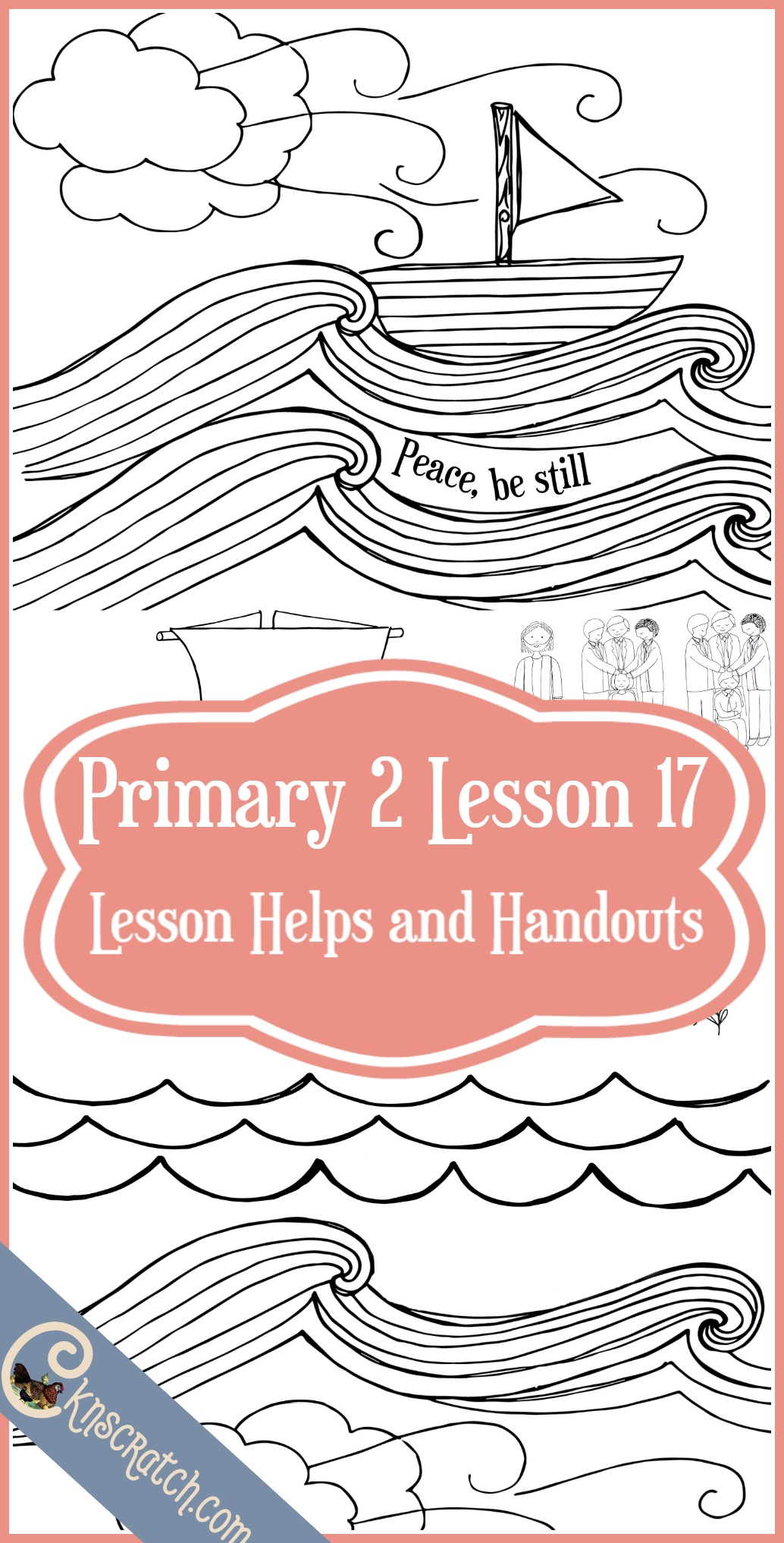 Oh I love this- LDS handouts and lesson helps for Primary 2 Lesson 17- The Priesthood helps me