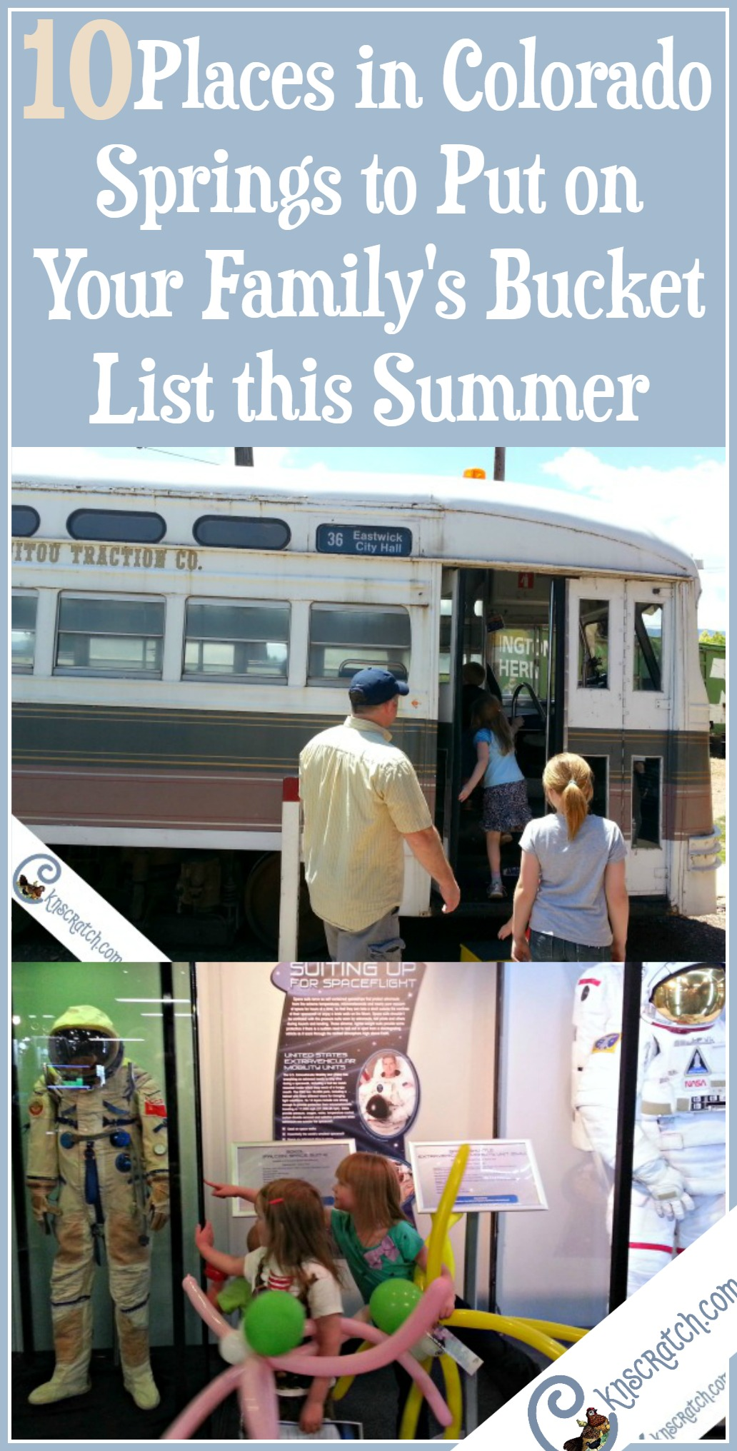 Oh this is great- 10 places to put your bucket list this summer in Colorado Springs. I didn't know about a couple of these.