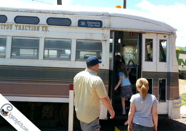 Can't believe I haven't heard about this yet! Trolley, train, and streetcar museum in Colorado Springs