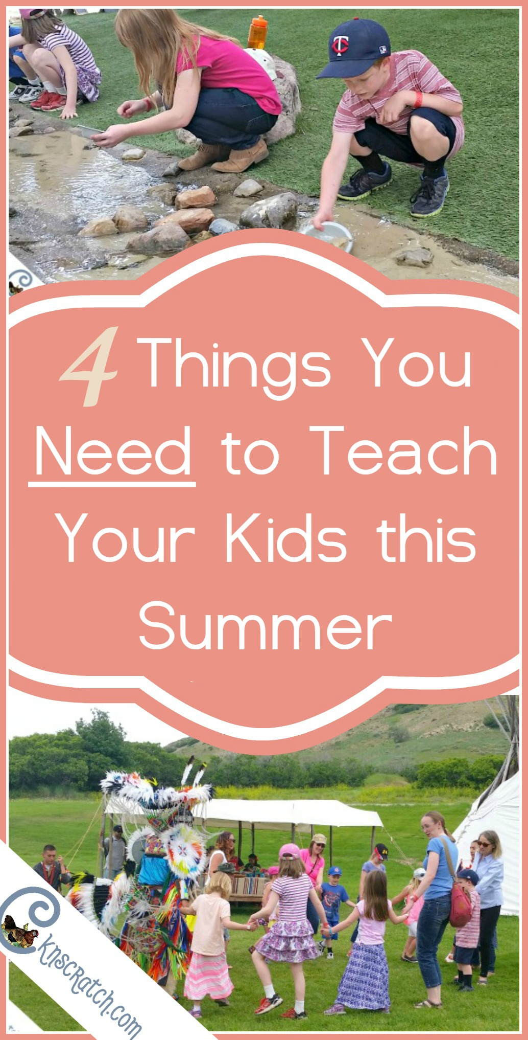 Yes to all of these! Great list of things that all children should be taught every summer.