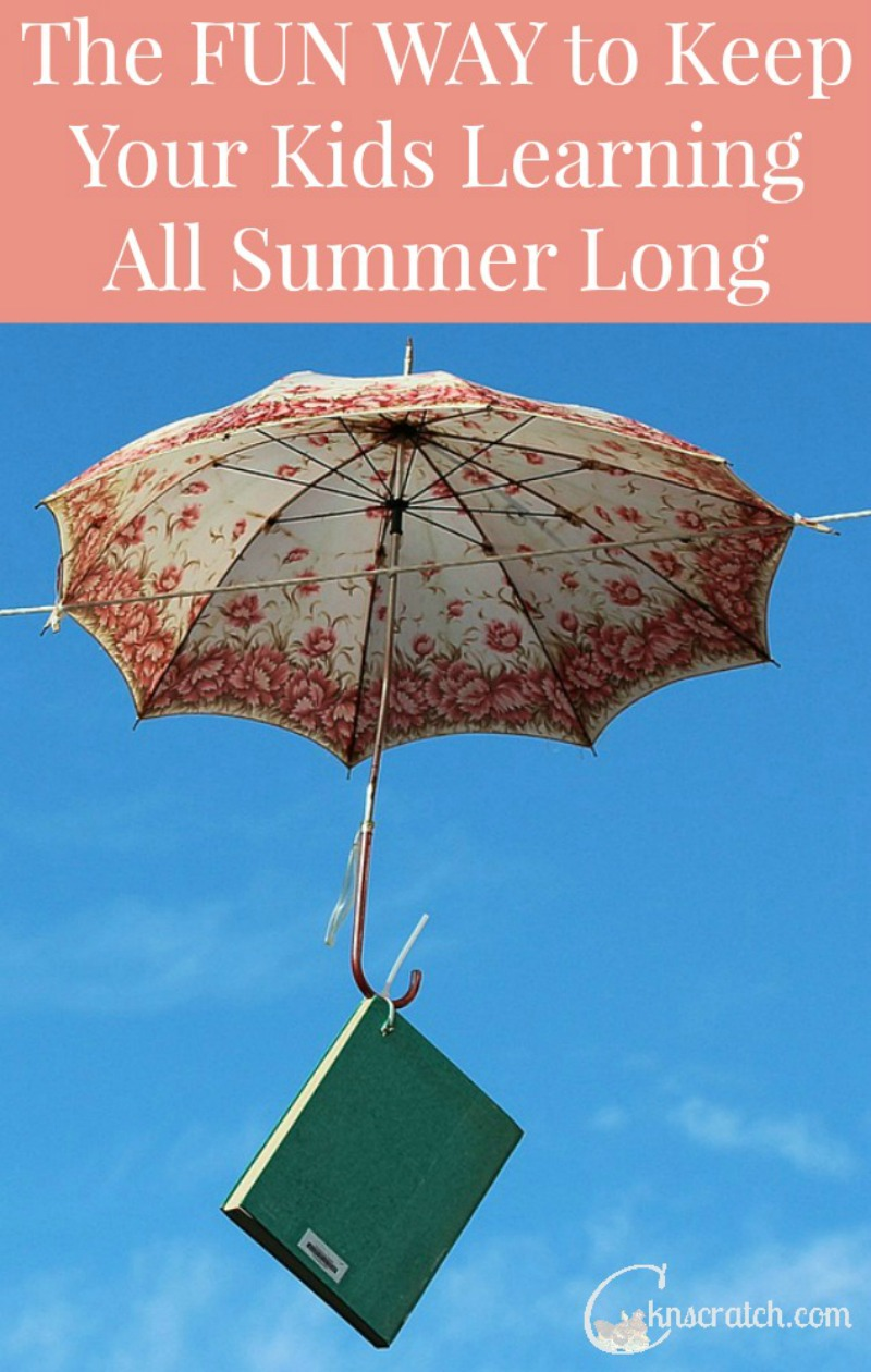 Fun ideas to keep the learning going all summer- great for kids