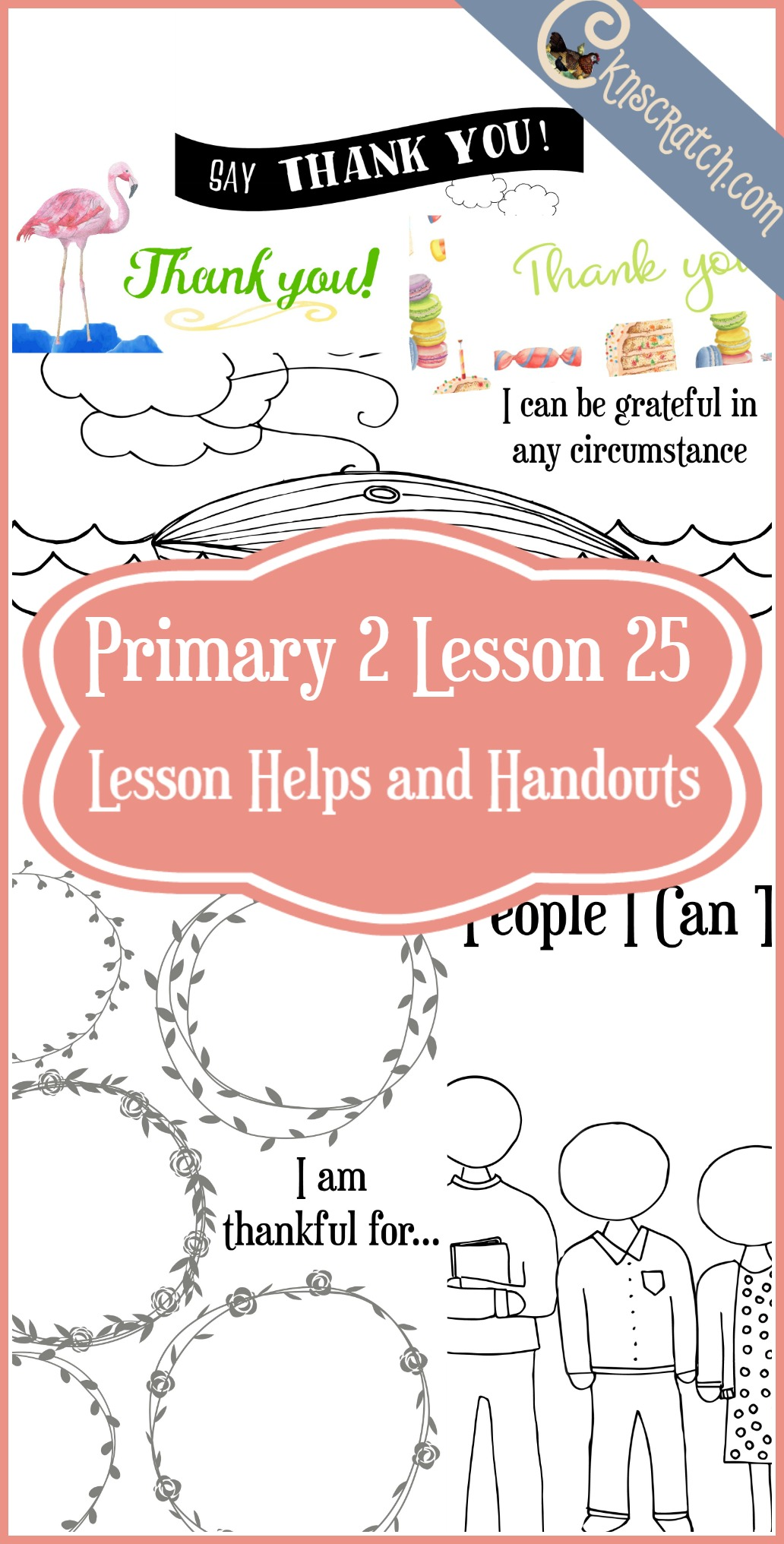 "So many great LDS handouts and lesson helps for teaching Primary 2 Lesson 25: Remember to Say ""Thank You"""