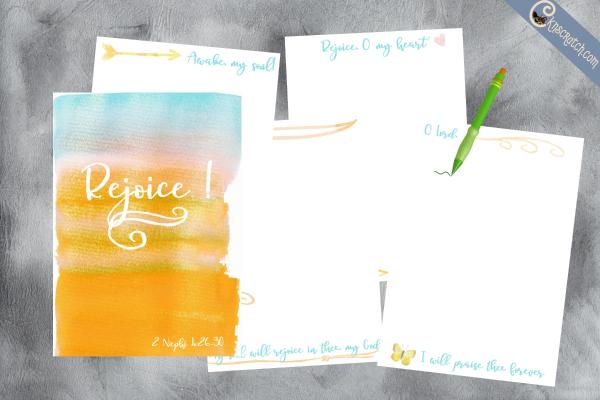 A Rejoice Journal- what a great idea!