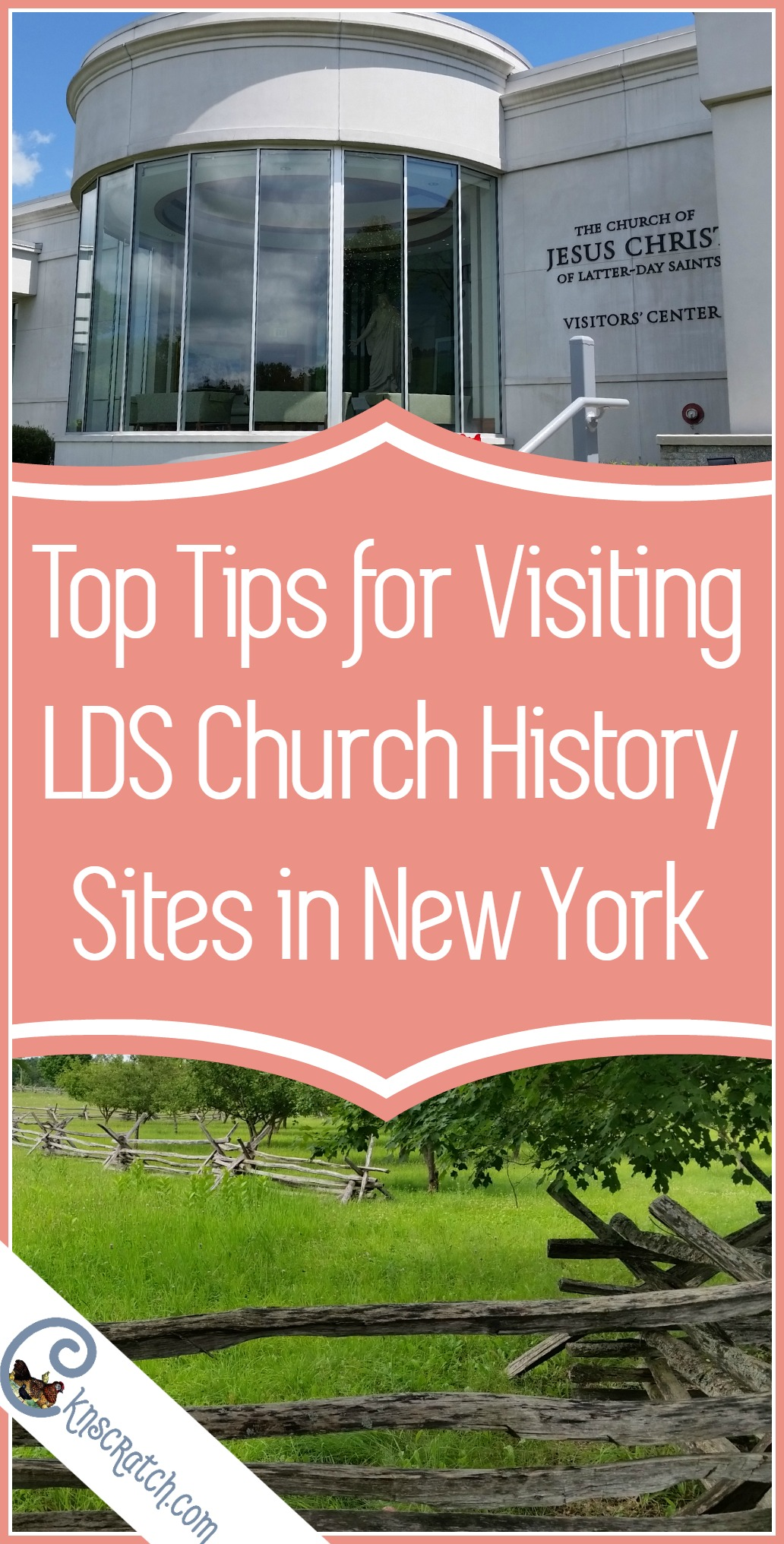 Great tips for visiting LDS church history sites in upstate New York