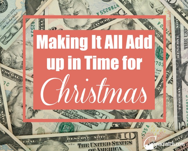 While Christmas isn't about the money, it is nice to be able to give gifts. Great ideas to save when the budget is already tight.
