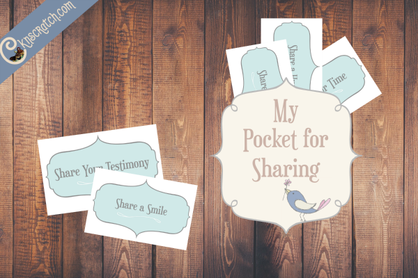 Great sharing cards to go with Primary 2 Lesson 27: I can help others be happy by sharing