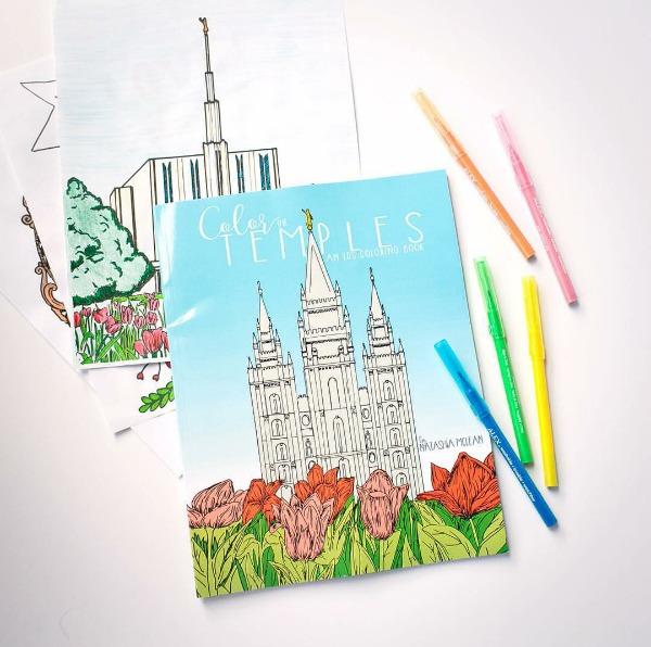 Color the LDS temples!