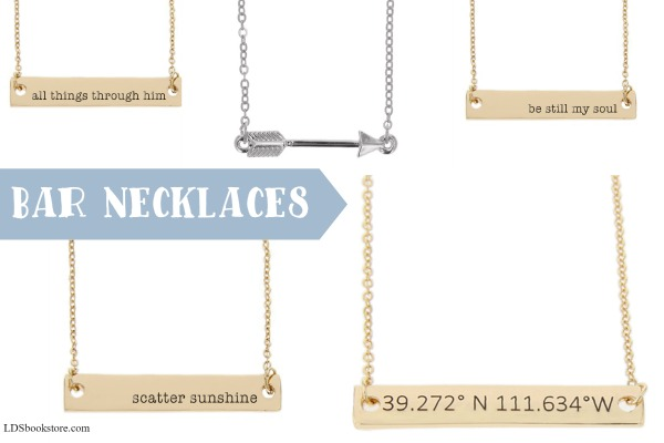 In love with these bar LDS necklaces!!
