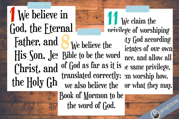Free Article of Faith posters